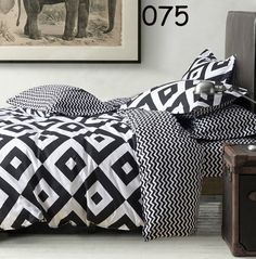 New Yellow black white red grid Twin Full Queen King 3 / 4pcs Bedding Set Bedclothes Sets Flat Sheets quilt cover Pillowcase