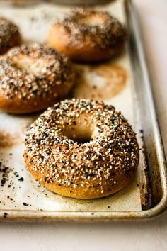 the very best NY style bagels ever - SO MUCH FOOD Ny Style, New York Style, No Bread Diet, Bread Shop, Bagel Recipe, Everything Bagel, Dry Yeast, Food Styling, Food Processor Recipes