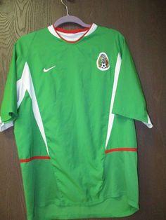b0808426b NIKE Men s Mexico Mexicana Federacion Futbol Soccer Jersey Shirt XL