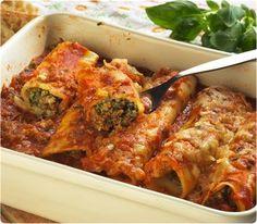 Cannelloni aux légumes