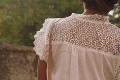 #lace shirt