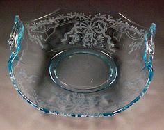 Elegant Depression Glass Patterns | Fostoria June Etched Elegant Glass