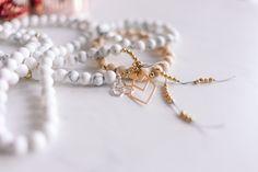 Gemstone, fashion necklace, healing jewelry, meditation Fashion Necklace, Meditation, Beaded Necklace, Quartz, Healing, Gemstones, Beads, Crystals, Bracelets