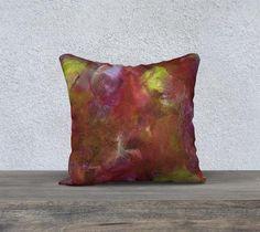 Essence, Sunrise - Pillow Cover, Square, 18x18