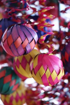 Mexican Christmas Ornaments