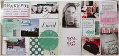 Project Life page made for Scrap-Perra, using different kind of cards.