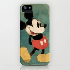 Mr. Mickey Mouse iPhone & iPod Case