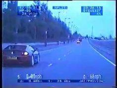 Police Chase Red Ferrari & Blue Lotus