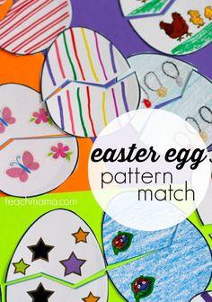 easter egg pattern m
