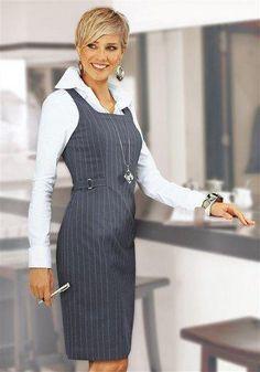 Business style - like a boss Business Dresses, Business Outfits, Business Attire, Business Fashion, Abaya Fashion, Fashion Moda, Fashion Dresses, Abaya Mode, Maxi Skirt Tutorial