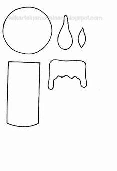 Askartelijan idealaari: Kaavoja töihin Crafts For Kids, Projects To Try, Christmas Decorations, Xmas, Asia, Winter, Butterfly Template, Classroom Decor, Stencils
