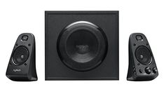 Logitech Z623 2.1 Channel Computer Speaker System with Subwoofer and THX Sound (980-000402)