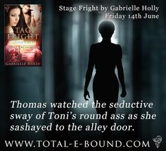 """Find out what happens when Toni gets to the alley! """"Stage Fright"""" is available now at Total-e-Bound and everywhere June 14th."""