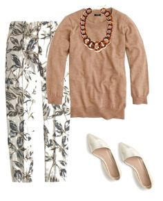 """Wednesday"" by sandd43 ❤ liked on Polyvore featuring J.Crew and BaubleBar"