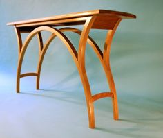 Console Table in American cherry