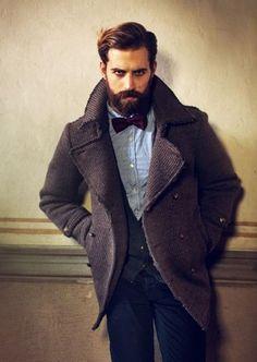 Hopefully I can grow a beard like this someday! Greek Men, Beard Boy, Greek Beauty, Portrait Poses, Gentleman Style, Winter Looks, Bearded Men, Mens Fashion, Fashion Tips