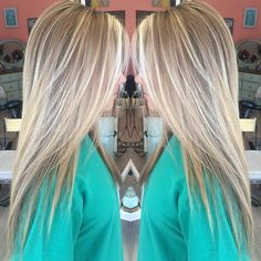 """awesome Hair by Korian Bradley on Instagram: """"Blondie blonde.  #hairbykorianbradley #blonde #balayage """" by http://www.best-haircuts-hairstyles.xyz/"""