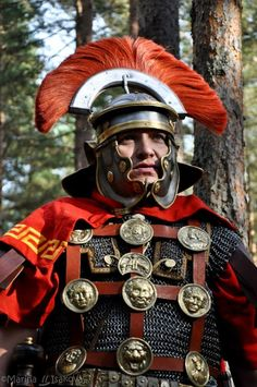 Modern recreation of Roman Centurion armor circa 1st-2nd c. A.D.