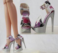 "Doll Shoes/Sandals for 16"" Tonner Antoinette (11NS-16"