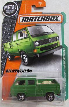 MATCHBOX 2017 METAL PARTS PIEZAS VOLKSWAGEN TRANSPORTER CAB W/ TOOL BOX #Mattel