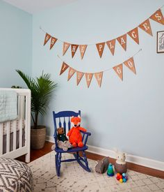 """Oh, The Places You'll Go"" Nursery 