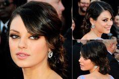 mila kunis hair updo | Mila Kunis, Up-Dos, Up do Hairstyles, Celebrity Hairstyles, Hair ...