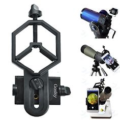 Cameras & Photo Binoculars & Telescopes Gosky Quick Cell Phone Adapter Mount Compatible With Binocular Monocular Scope Good Taste