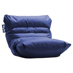 1feac5e28c56 Roma Beanbag Lounger in Blue - The Great Game Room on Joss   Main Rooms To