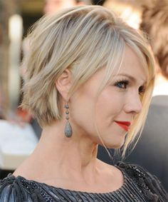 Image result for jennie garth messy cut