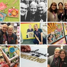 "#Repost @kingstoncrafts: ""Are you ready for a GIVEAWAY??? Today I've got recap of @afci_global #creativation including my adventures in the #xyron booth some of my favorite new products (@vickiboutin @1canoe2 @heidiswapp and @plaidcrafts I'm talkin' to you!) our friends night out at @pinspirationaz and - oh yeah - a big ol' bag of prizes for one lucky winner! Head on over to the blog (link in profile) to enter! #papercraft #creativewomen #pinspirationaz #giveaway"