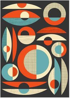 Mid-Century Modern Print by Jan Skácelík