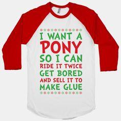 Grinch Pony #grinch #movie #christmas