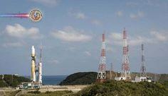 Japão aborta o voo do mini foguete. O lançamento do mini-foguete japonês terminou em fracasso...