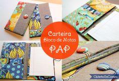 Projeto Carteira Bloco de Notas | Clubinho da Costura