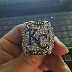 Kansas City Royals 2015 Ring MLB Baseball World Champions Rings Free Shipping