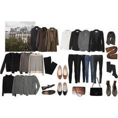 Wardrobe goals by trenchcoatandcoffee on Polyvore featuring J.Crew, A.P.C., jucca, Theory, Yves Saint Laurent, Burberry, Steven Alan, Étoile Isabel Marant, Frame Denim and Helmut Lang