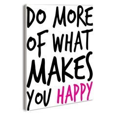 Stupell Decor Do More Makes You Happy Boutique Chic Wall Plaque - LLS-108_WD_10X15