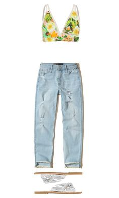 """Florida is the only thing that would make me happy"" by gg-eliza on Polyvore featuring Hollister Co. and Loeffler Randall"