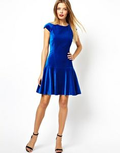 83cea279c927e Image 4 of Ted Baker Dress in Velvet Ted Baker Dress