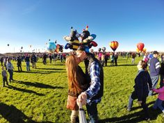 "October 15, 2014 Balloon Fiesta, Albuquerque NM with @turnersedwhat! Tag someone you love to ""GoPro"" with! ❤️ #goprolove #goprooftheday http://goprooftheday.com/image/2497/image"