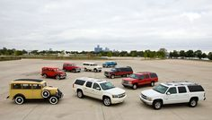 75 Years of Chevrolet Suburbans