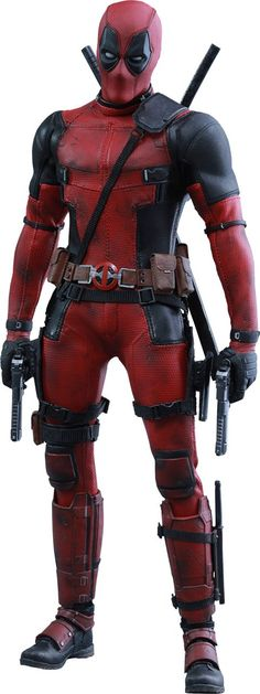 Hot Toys Marvel Deadpool Sixth Scale Figure. Awesome comic book character.