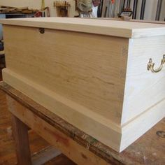 Sea Chest / Blanket Chest / Coffee Table by Charles Cann