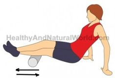 Learn about the best foam roller exercises for sciatic pain and back pain. Sciatic Nerve Relief, Sciatic Pain, Foam Roller Exercises, Back Pain Relief, Pilates, Calves, Detox, Health, Charts