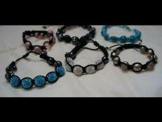 Tutoriel: Bracelet Shamballa - YouTube