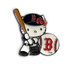Boston Red Sox Hello Kitty Batter Pin, $15 via YawkeyWayStore.Com