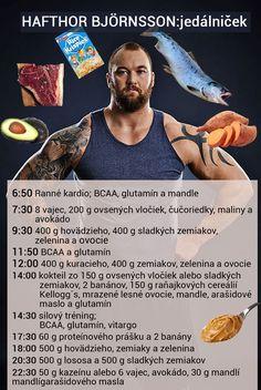 Hafthor Bjornsson - jedálniček a tréning pred Arnold Strongman 2017 Muscle Fitness, Gym, Gym Room