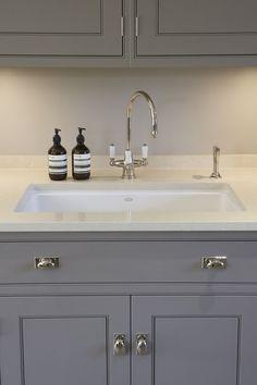 Perrin & Rowe Taps - Humphrey Munson kitchen - Luxury Bespoke Kitchen - Harpenden - Humphrey Munson