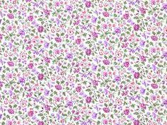 Makower - The Henley Studio 'Alison's Ditzy Florals'  Bildgröße 26,5 cm x 20 cm bm-463-04-7050