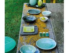 Mediterranes Flair aus Frankreich - Geschirr Tourron von Jars Ceramistes
